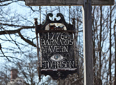 Photograph - Barnard's Tavern 1776 by Mark Alesse