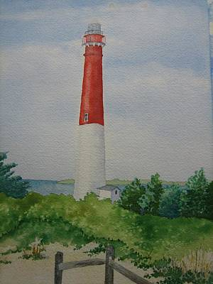 Painting - Barnegat Light by Jeff Lucas