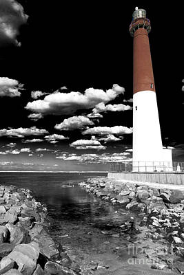 Photograph - Barnegat Lighthouse Fusion by John Rizzuto