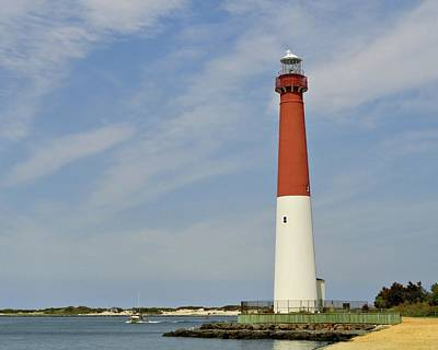 Photograph - Barnegat Lighthouse - Jersey Shore by Angie Tirado