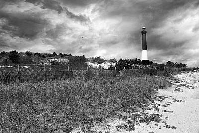 Barnegat Lighthouse Art Print by John Rivera