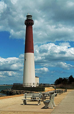 Photograph - Barnegat Lighthouse Lbi by Elsa Marie Santoro