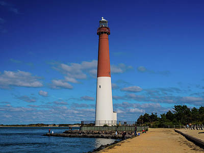 Photograph - Barnegat Lighthouse by Louis Dallara