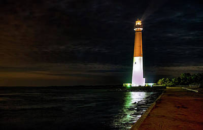 Photograph - Barnegat Lighthouse by Pete Federico