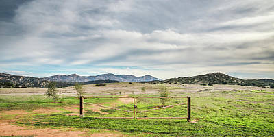 Photograph - Barnett Ranch - Lost Gate by Alexander Kunz