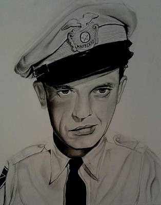 Barney Fife Art Print by Brandon Treadaway