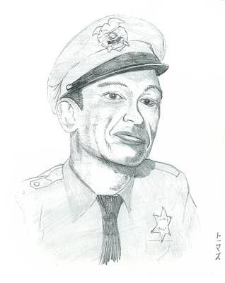 Barney Fife Art Print by Thomas Elliott