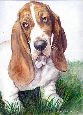 Painting - Barney by Mamie Greenfield