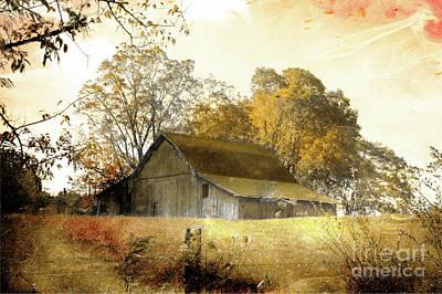 Photograph - Barning by Rick Lipscomb