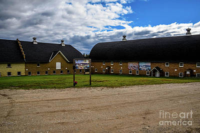 Photograph - Barns At Traverse City Commons by Grace Grogan