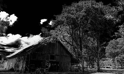 Photograph - Barns In Pacific Northwest by Allen Sindlinger