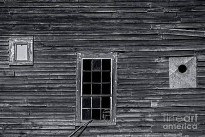 Photograph - Barnside Detail by James Aiken
