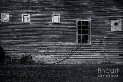 Photograph - Barnside Still Life by James Aiken