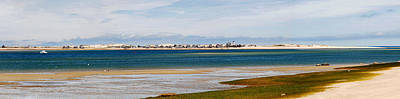 Photograph - Barnstable Harbor Panorama by Charles Harden