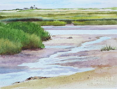 Painting - Barnstable Marsh by Karol Wyckoff