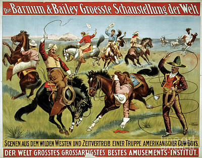 Drawing - Barnum And Bailey, C1900.  by Granger