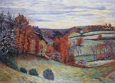 Barnyard  Crozant Art Print