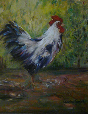 Barnyard Art Print by Gloria Smith