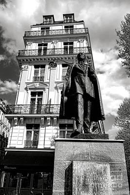 Photograph - Baron Hausmann by Olivier Le Queinec