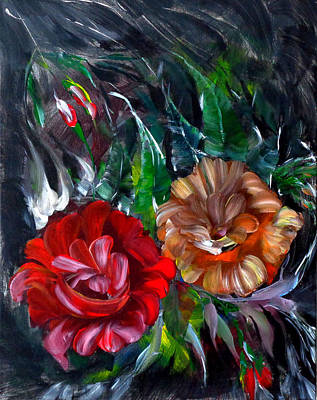 Painting - Baronesse Bloom by Larissa Pirogovski