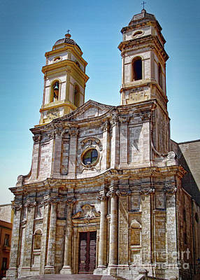 Photograph - Baroque Church Of Sant'anna by Sue Melvin