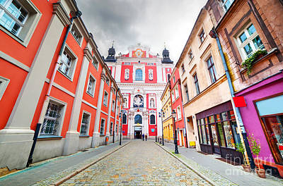 Photograph - Baroque Collegiate Church In Poznan by Michal Bednarek