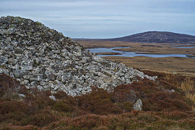 Photograph - Barpa Langais North Uist by Christopher Rees
