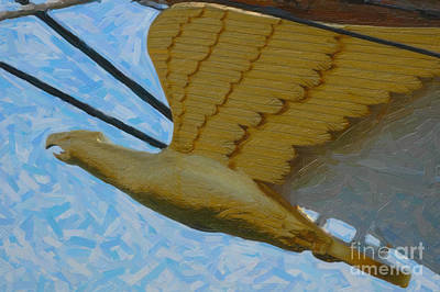 Photograph - Barque Eagle by Dale Powell