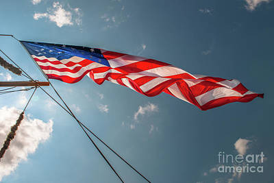 Photograph - Barque Eagle Stars And Stripes by Dale Powell