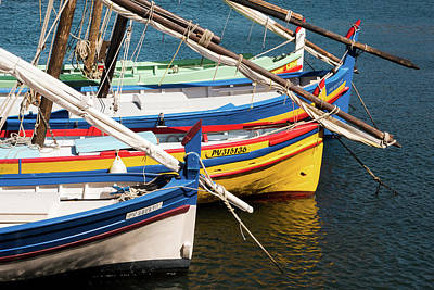 Photograph - Barques A Collioure by Martin Longstaff