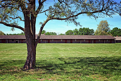 Photograph - Barracks - Fort Atkinson - Nebraska by Nikolyn McDonald