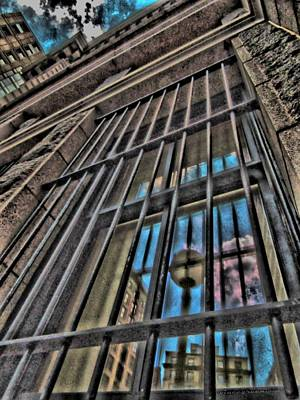 Digital Art - Barred From Reality by Vince Green