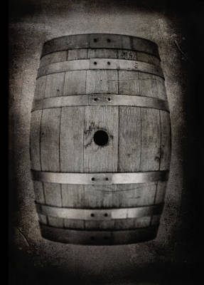 Barrel 2 Art Print by Matthew Graves