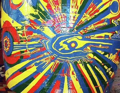 Painting - Barrel #7 by Richard Van Vliet