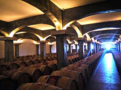 Photograph - Barrel Cellar by Nadine Dennis