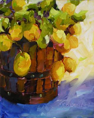 Painting - Barrel Of Sunshine by Chris Brandley