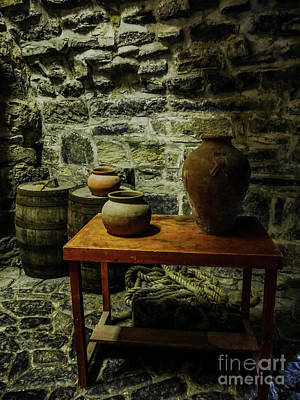 Photograph - Barrels And Pots by Lexa Harpell