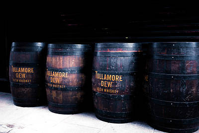 Photograph - Barrels Of Gold - Tulamore Dew by Georgia Fowler