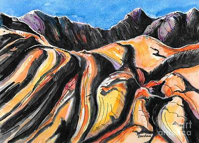 Painting - Barren Hills by Terry Banderas