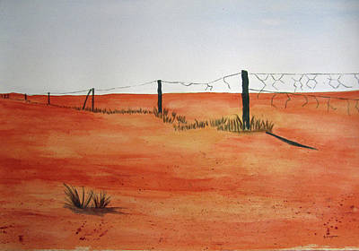 Painting - Barren Land by Elvira Ingram