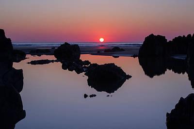 Photograph - Barricane Beach In Devon by Pete Hemington
