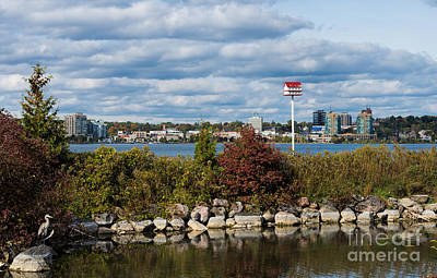 Photograph - Barrie, Ontario by Les Palenik