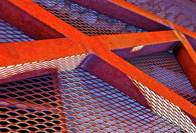 Barrier Abstract Art Print