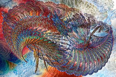 Diatoms Digital Art - Reef #2 by Chas Hauxby