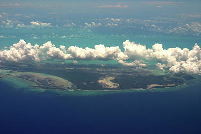 Photograph - Barrier Reef Island In Caribbean by Carl Purcell
