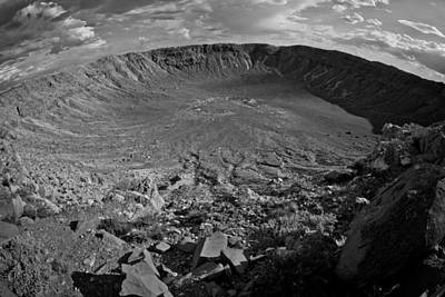 Photograph - Barringer Meteor Crater #7 by Robert J Caputo