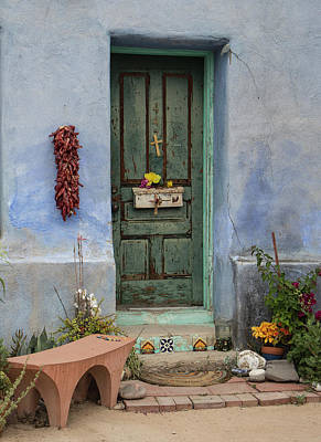 Photograph - Barrio Door by Teresa Wilson