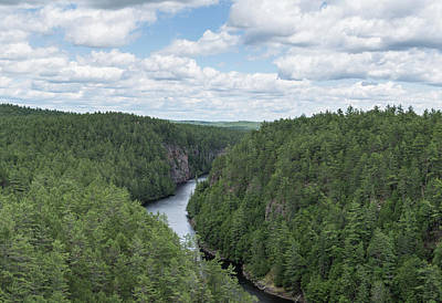 Photograph - Barron Canyon - Algonquin Park by Josef Pittner