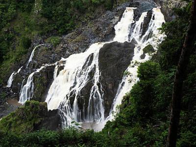 Photograph - Barron Falls by Walt Sterneman