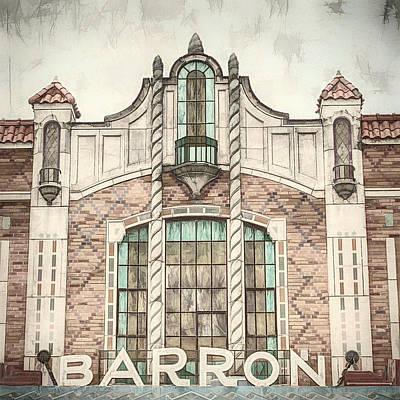 Photograph - Barron Theater by Ann Powell